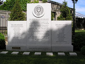 Seven Blocks of Granite - The Seven Blocks of Granite Monument at Fordham University