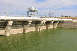 Shardara Hydroelectric Power Station.JPG