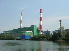Photograph of the Shatura Power Station