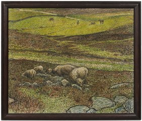 Sheep in a Dell