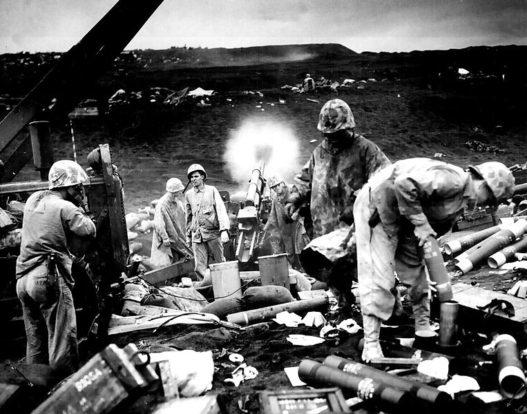 Image:Shelling on Iwo Jima.jpg