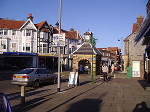 Sheringham - Image: Sheringham 24th Jan 2008 (1)