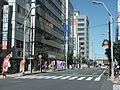 Shinkoshigaya Bahnhofstrasse 1.JPG