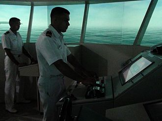 Maritime simulator - Ship Handling Simulator at Maritime Warfare Centre, Visakhapatnam