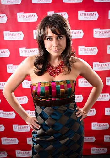 English: Shira Lazar at the 1st Streamy Awards...