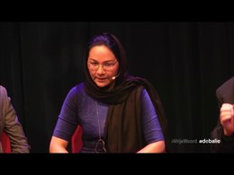 Bestand:Shirin Musa free speech Dutch only.webm
