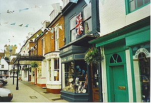 New Alresford - Shop Fronts, Broad Street