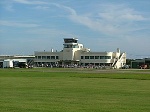 Grade II* listed buildings in West Sussex - Image: Shoreham Airport buildings