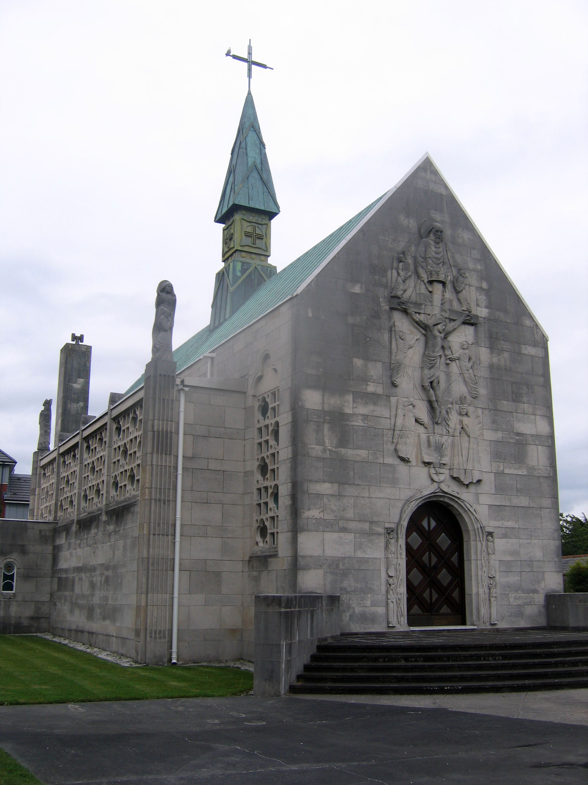 national shrine of our lady of lourdes parish essay The lourdes rosary shrine is located in the church of st louis bertrand  when the story of our lady of lourdes and bernadette became known in the .