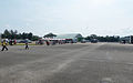 Shuttle Buses Station in Ching Chuang Kang Air Force Base 20140719.jpg