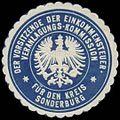 Siegelmarke Der Vorsitzende der Einkommensteuer Veranlagungs-Kommission für den Kreis Sonderburg W0360398.jpg