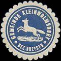 Siegelmarke Gemeinde Kleinwolmsdorf W0369385.jpg