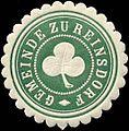 Siegelmarke Gemeinde zu Reinsdorf W0314481.jpg
