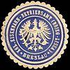 Siegelmarke Königliche Eisenbahn - Betriebsamt (Brieg - Lissa) - Breslau W0229479.jpg