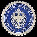 Siegelmarke Kaiserliche Marine - Abnahmeamt Düsseldorf W0239775.jpg