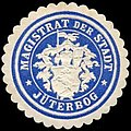 Siegelmarke Magistrat der Stadt - Jüterbog W0260027.jpg