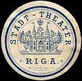 Siegelmarke Stadt - Theater - Riga W0245652.jpg