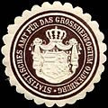 Siegelmarke Statistisches Amt für das Grossherzogtum Oldenburg W0296718.jpg
