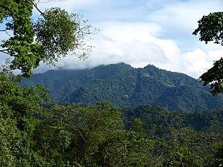Sierra del Merendón mountains in Honduras