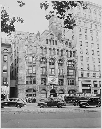 The Washington Post - The Washington Post building in 1948