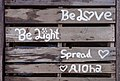 Sign on a pier on Cusheon Lake, Saltspring Island, British Columbia, Canada 11.jpg