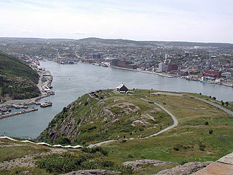 Grand Concourse (St. John's) - Lake-to-Lookout Walk atop Signal Hill, St. John's