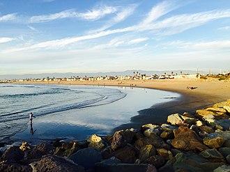 Silver Strand Beach - Silver Strand Beach, January 2015.
