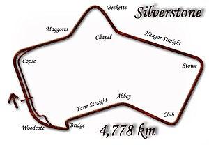 1987 British Grand Prix - Image: Silverstone 1987