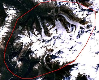 Stratovolcano in Canada