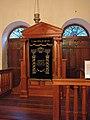 Sinagoga Kahal zur Israel, Arca.JPG