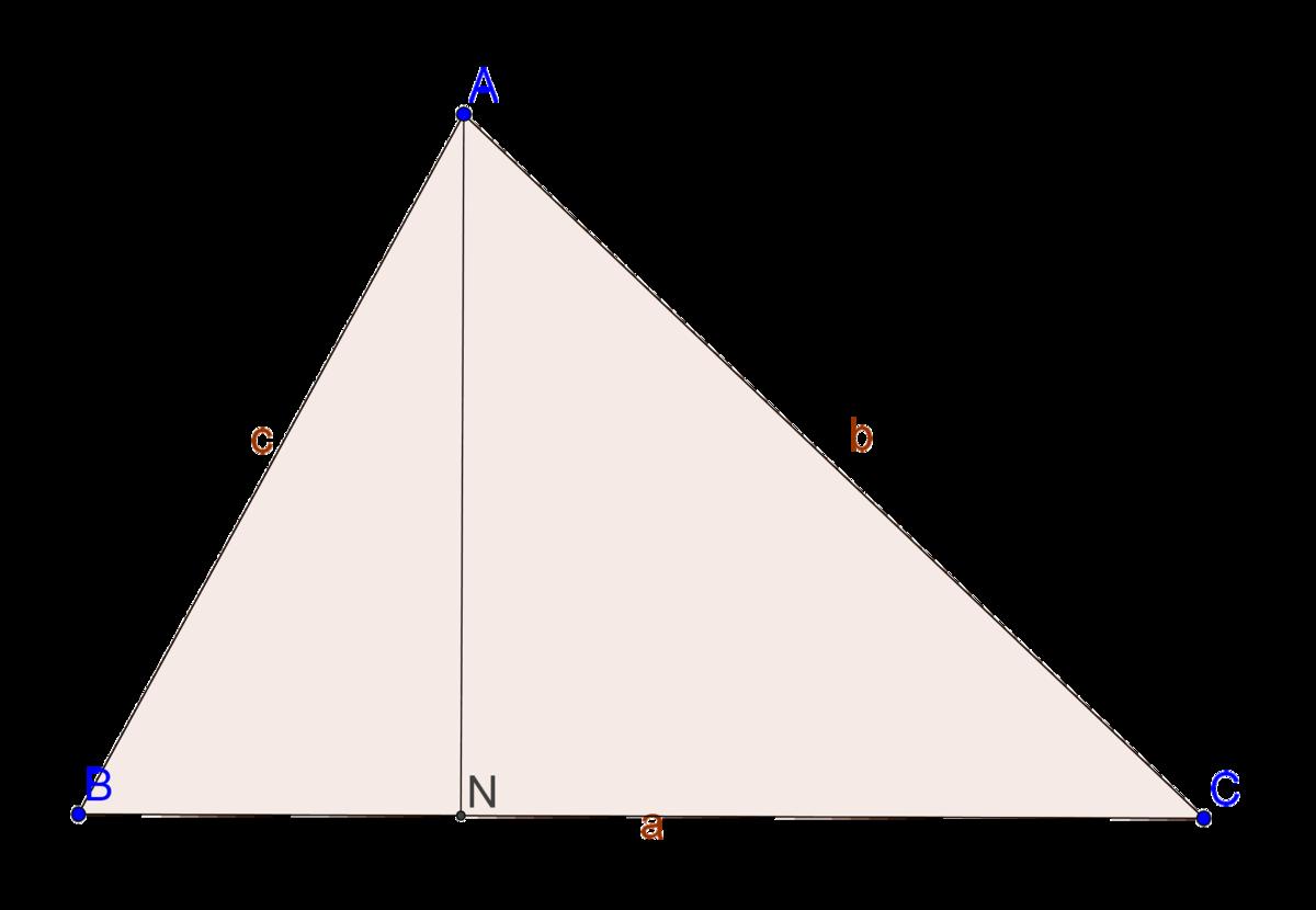 رسم ارتفاعات المثلث خطوة 15