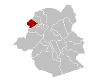 Sint-Agatha-Berchem municipality in the Brussels-Capital Region