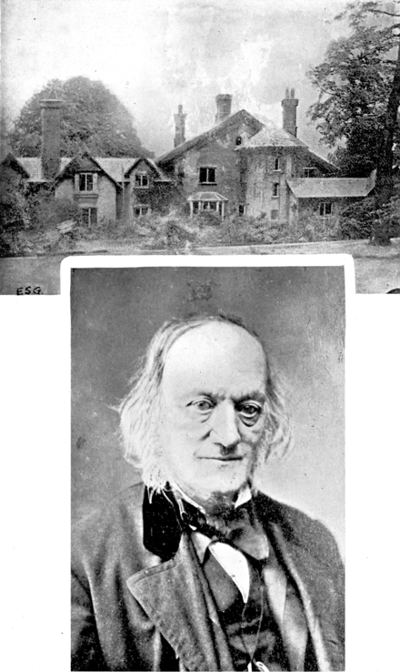 Sheen Lodge (above) and Sir Richard Owen Sir Richard Owen, K.C.B., F.R.S. and Sheen Lodge, Richmond Park.png