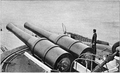 Sixty seven ton guns mounted on a barbette.png