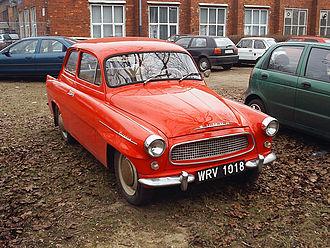 Škoda Octavia (1959–71) - Image: Skoda Octavia 2