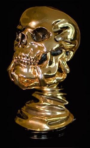 Screamfest Horror Film Festival - The Screamfest skull award designed by Academy Award winner Stan Winston.
