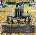 Skulptur Amalienpark (Panko) Sitzendes Liebespaar&Carin Kreuzberg&1976.jpg