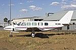 Skypac Aviation (VH-NWN) Piper PA-31-350 Chieftain at Wagga Wagga Airport.jpg