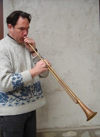 Alta cappella - Modern reconstruction of a fifteenth-century slide trumpet