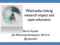 Slides Research impact and open education 2013 Oxford.pdf