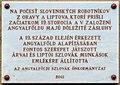 Slovak workers plaque (Budapest-13 Tutaj u 1a).jpg