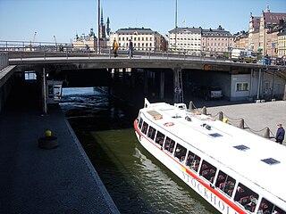 Söderström (Stockholm) Watercourse in central Stockholm, Sweden
