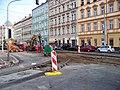 Smíchovské nádraží, smyčka, výměna výhybek (04).jpg