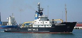 Jan de Hartog - Image: Smitwijs Singapore in Rotterdam