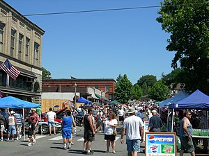 Snohomish, Washington - First Street during the annual Kla-Ha-Ya Days celebration, 2006