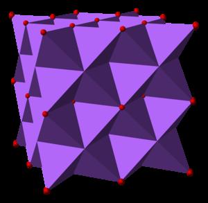 Sodium oxide - Image: Sodium oxide 3D polyhedra