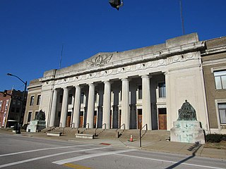 Soldiers and Sailors Memorial Coliseum Arena in Indiana, United States