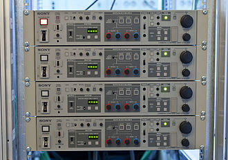 Camera control unit - Equipment CCU