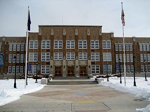 Salt Lake Community College - West Entrance of South City Campus