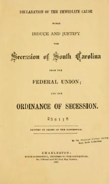 was the south justified in seceding from the union The fundamental cause of southern secession (and ultimately the civil  he  wanted to maintain the union and preferred a peaceful solution  the official  justification for secession in the first state to secede, south carolina.